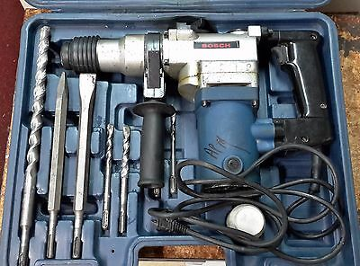 Home Owners Bosch Rotary Hammer Drill, Corded, 110v,1200 W, Bits & Case