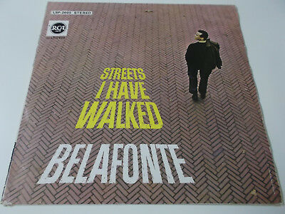 40211 - Harry Belafonte - Streets I Have Walked - Rca Vinyl Lp Made In Germany