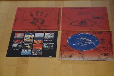 """CURE - WISH VINYL 1992FICTIONRECORDS 513 261-1 EU FIRST with inserts  """"MINT-"""""""