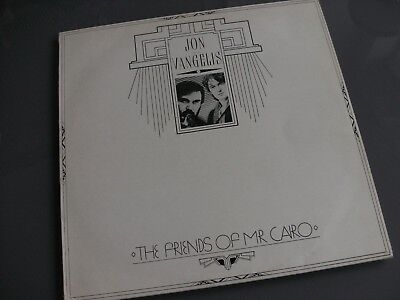 JON AND VANGELIS ‎– The Friends Of Mr Cairo. 1981 LP. Excellent Condition