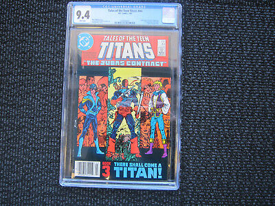 Tales of the Teen Titans #44 - CGC 9.4 - 1st Nightwing