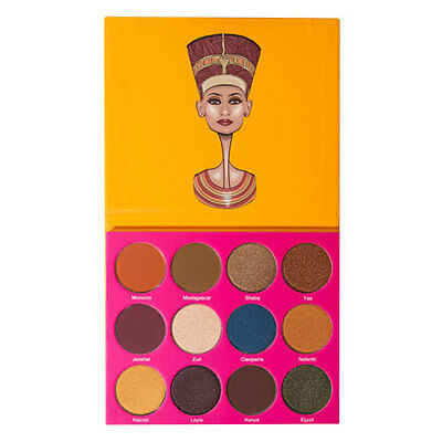 by juvia's The Nubian 2 Eyeshadow Palette