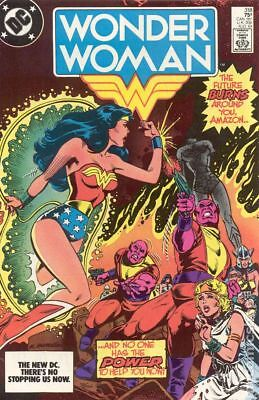 Wonder Woman (1st Series DC) #318 1984 VF Stock Image