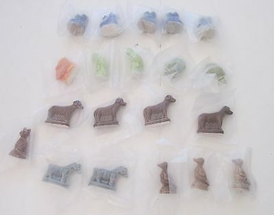 Red Rose Wades Tea England Figurines Lot of 20 New in Package