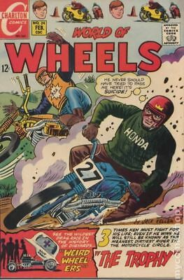World of Wheels #24 1969 GD/VG 3.0 Stock Image Low Grade