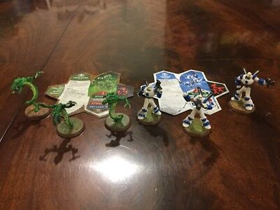 Heroscape Snipers And Vipers Wave 1 Malliddon's Prophecy Complete Expansion Set