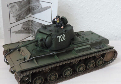 Forces of Valor Russian Heavy Tank KV-1, 1:32 Panzer Tank 1945 Metall No:80056