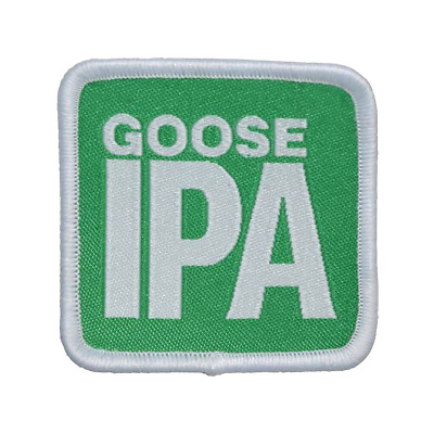 7e5b01fa GOOSE ISLAND BEER CO IPA Woven Patch 2in Brewery Brewing - $7.95 ...