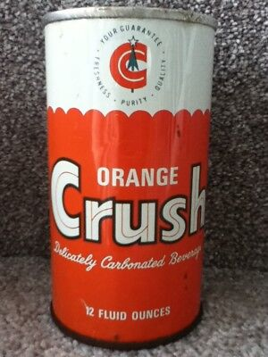 Orange Crush Straight steel. (late 60's/early70s). No bar code or ml listed