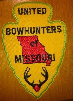 """United Bowhunters Of Missouri Patch Deer Hunting Patch 4.5"""""""