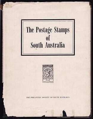 The Postage Stamps of South Australia Book Hardcover