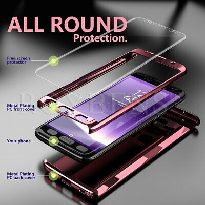 For Samsung Galaxy S10 Plus S8 Note 8 Shockproof Thin Protective Hard Case Cover