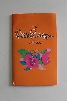 VTG Lilly Pulitzer Catalog Folder 1977