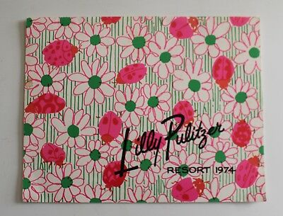 VTG Lilly Pulitzer Catalog Resort 1974