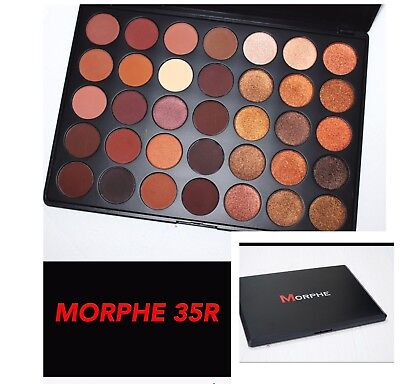 Morphe 35R Ready Set Gold Eyeshadow Palette Uk Seller