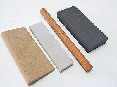 Arkansas & India Sharpening Stones