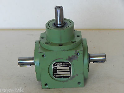 Vogel Spiral Bevel Gear Unit Type L:1 Ratio 1:1 Part No B36255 [2R2B]