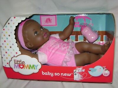 Little Mommy - Baby So New African American  NEW IN BOX