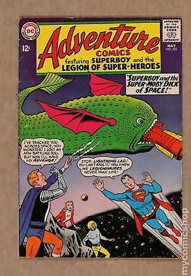 Adventure Comics (1st Series) #332 1965 VG 4.0