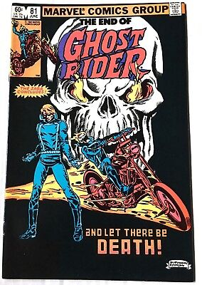 Ghost Rider #81 VF/NM  1983  Series 1 finale   Bronze Age