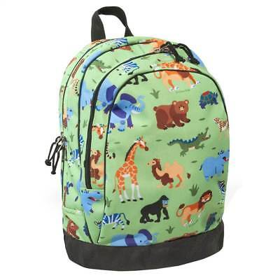Olive Kids Double Zippered Compartment Wild Animals Backpack [ID 64976]