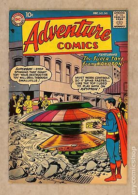 Adventure Comics (1st Series) #243 1957 VG 4.0