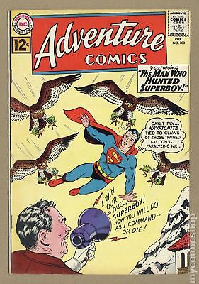 Adventure Comics (1st Series) #303 1962 VG 4.0