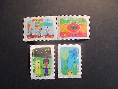 1--1999-  Christmas  Island  -Christmas Issues  -4  Stamps--Mint--Mnh--A1