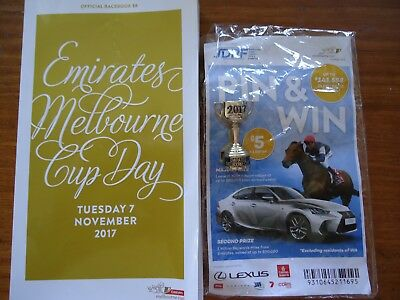 Melbourne Cup 2017 Rekindiling Race Book And Pin