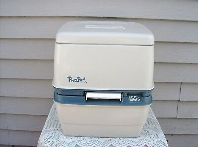 Thetford 155S PORTABLE TOILET Porta Potti Camping Boating Potty Owners Manual