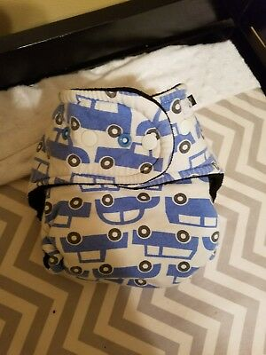 a.c.e fluff hybrid fitted cloth diaper