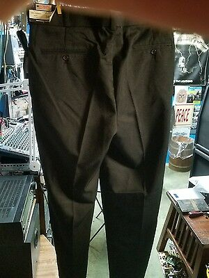 Uniform Security guard police Polyester Navy Pants wrinkle free ELASTIC BAND NEW