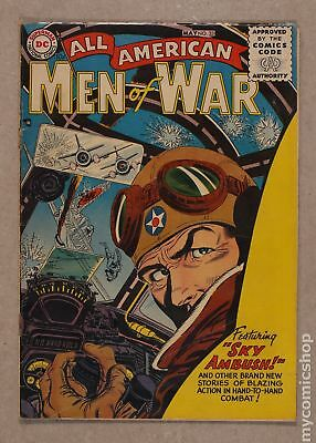 All American Men of War #33 1956 GD/VG 3.0