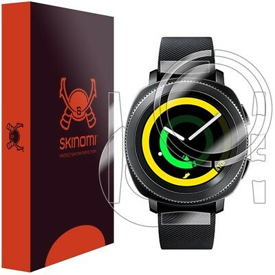 Skinomi FULL BODY Clear Skin+Screen Protector For Samsung Gear Sport