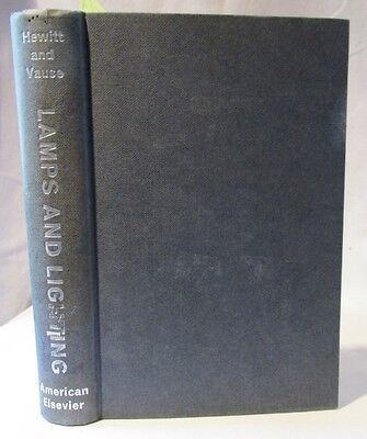 Electrical Engineering: Lamps and Lighting; Vintage Manual