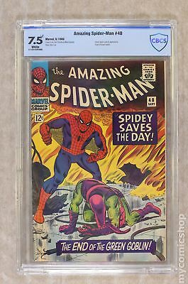 Amazing Spider-Man (1st Series) #40 1966 CBCS 7.5