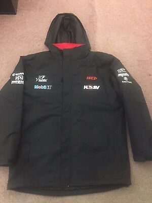 HSV Mobil 1 Racing Team 2017 Works Race Water Proof  Jacket (used) XL