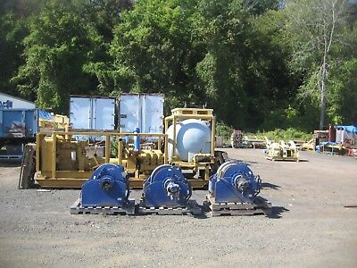 """Selling (1) 20,000 LB. Capacity TMA Hydraulic Winch 3/4""""  Wire Rope"""