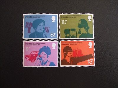 Centenary of the Telephone Great Britain 1976 Commemorative Stamps