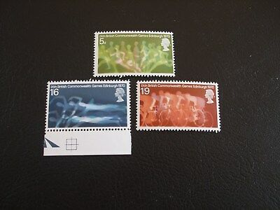 9th British Commonwealth Games Great Britain 1970 Commemorative Stamps