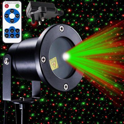 Christmas R&G Waterproof moving Laser Projector LED Lights Outdoor Garden Light