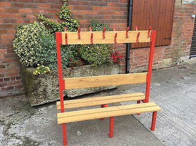 Excellent School Changing / Cloak Room Double Sided Bench....