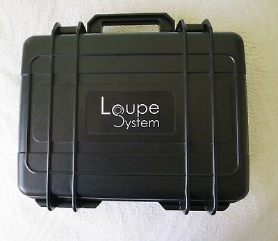 Loupe System ABS 4 Watch Case Water-proof Dust-proof Crush-proof Transport Case