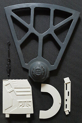 Vintage Kenner Star Wars X-Wing Fighter Gun Laser Weapon Death Star Parts