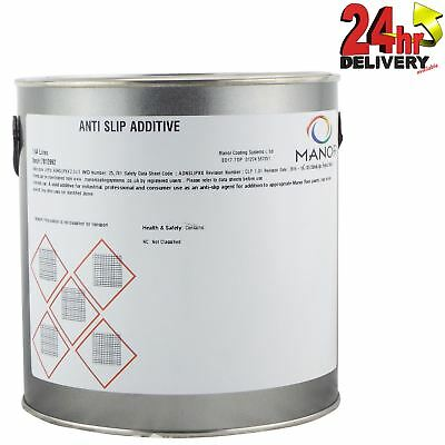 Manor 2.5ltr Anti Slip Paint Additive - Transparent Fine Sand - Use With Paint