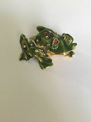 Frog Magnetic Trinket Box