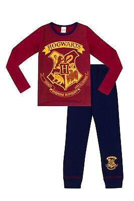 Girls Harry Potter Pyjamas Harry Potter Pajamas Hogwarts Pjs 6 to 13 Years W17