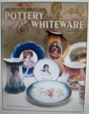 Vintage Decorative Pottery Price Guide Collector's Book White Pottery