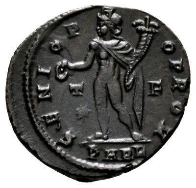 CONSTANTINE THE GREAT (316 AD) Exceptionally Rare Follis. Arles #MA 9592