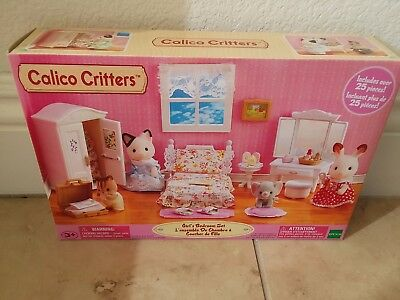 BNIB CALICO CRITTERS GIRL\'S BEDROOM Set EPOCH #CF1521 - $23.99 ...